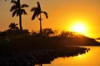 Sunset Holiday Everglades Park